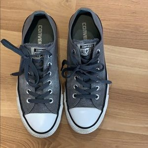 Converse All star gray sneakers size 7.5